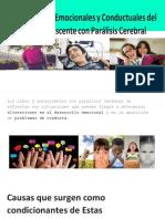 Características Emocionales y Conductuales del Niño y Adolescente con PC