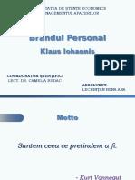 271647095-Prezentare-PPT-Brandul-Personal-Klaus-Iohannis