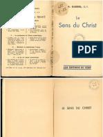 Gardeil Le Sens du Christ