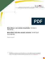 Bourdieu e as cenas musicais - Marcelo Garson