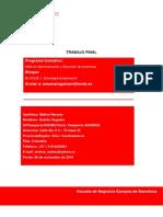 Enunciado trabajo final - Estrategia Empresarial