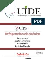 Sistema de Refrigeración Electrónico