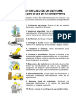 Instructivo kit antiderrame