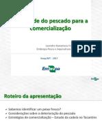 Qualidade do pescado para comercialização - Leandro Kanamaru