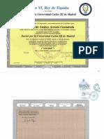 Diploma y Apost Doctorado EADH-UC3M. Ricardo Arrieta