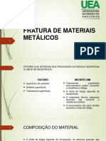 FRATURA DE MATERIAIS METÁLICOS (1)