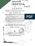 1785 Almeyda, Recreacion filosofica, vol 1