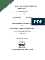 19483286 Organisational Study of BHEL Electronics Division