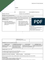 POD 3 Part Lesson Plan, Math grade 5, Geometry and Spatial Sense