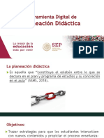 Planeacion didactica en linea