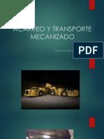 Acarreo y Transporte Mecanizado