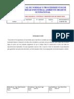 PROCEDIMIENTO PARA  MANEJO, CONTROL Y DISPOSICIÓN DE DESECHOS doc