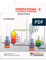 UNIT OPERATIONS - II [Heat and - K. A. GAVHANE.pdf