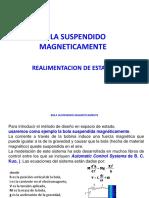 BOLA SUSPENDIDO MAGNETICAMENTE