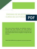 MUESTRA LECTO - 23 páginas