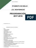 Programacion dibujo 2017-18