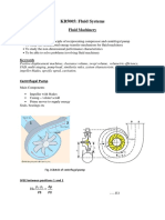 Fluid machinery handout