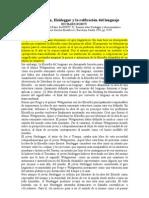 (1991) Rorty, Richard - Wittgenstein, Heidegger Y La Reificación Del Lenguaje