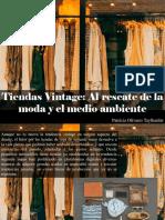 Patricia Olivares Taylhardat -Tiendas Vintage Al Rescate de La Moda y El Medio Ambiente