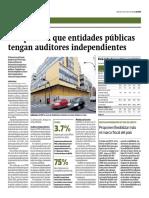 FMI plantea que entidades públicas tengan auditores independientes