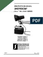 Spectroline-lampara uv- ing-espa