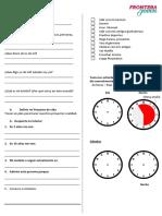 Proyecto de Vida Worksheet