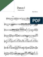 danza I - violino