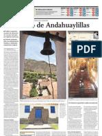 El Encanto de Andahuaylillas