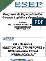 Gestión del Transporte y la distribución Física Local e Internacional - versión 1 diapositiva