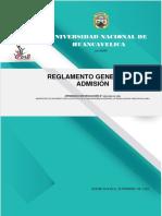 REGLAMENTO GENERAL DE ADMISION  2020-I