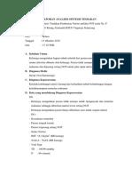 Analisis Sintesa Tindakan Pemberian Nutrisi Enteral (NGT)