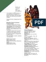 D&D 3.5 - Constructos 2