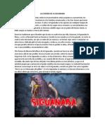 La Leyenda de La Siguanaba