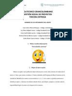 Tercera entrega Gestion Social de Proyectos