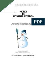 povestea_omului_de_zapada_proiect