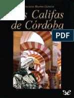 Los califas de Cordoba - Francisco Bueno Garcia