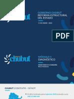 Presentación Reforma Estructural Del Estado en Chubut