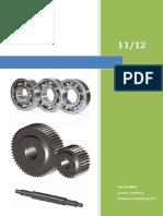 Power Screw Design - Design Embodiment & Material Selection Report (2011/2012)