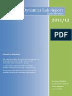 Year 2.1 - Dynamics Lab Report