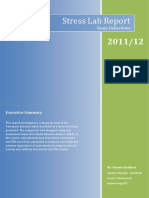 Year 2.1 - Stress Lab Report