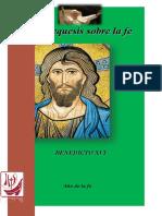 Catequesis sobre la fe - Papa Francisco