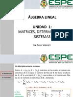 Clase 2.Definiciones y algebra de matrices - parte 2 renovado
