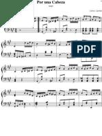Gardel - Por Una Cabeza (Piano)