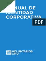 MANUAL DE IMAGEN CORPORATIVA - VOLUNTARIOS ONU