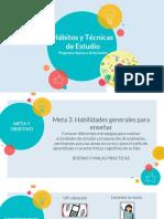 Técnicas de Estudio TALLER PARALELO MARZO 2019