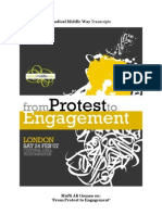 "Mufti Ali Gomaa on ""From Protest to Engagement"""