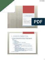 Costos unitarios Proc de Construccion