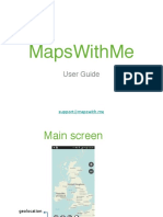 MapsWithMe user guide