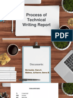 Processes of Tech. Writing Report