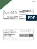 Farmacodinâmica-2013